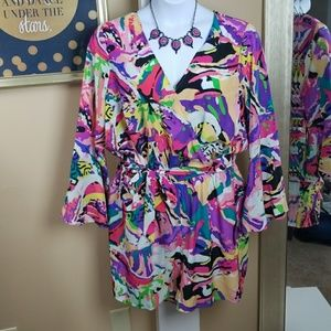 Simply Be Romper NWT Size 20W (Necklace Included)